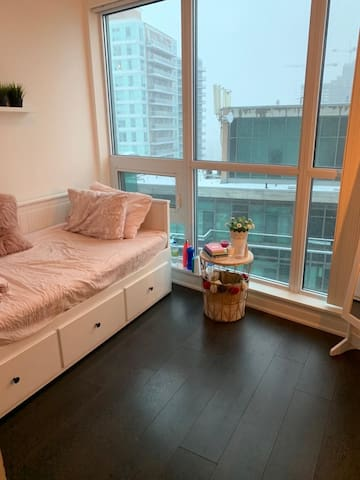 Amazing private room and bath in Liberty Village