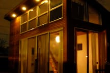The Loft at night (photo taken a few years ago).