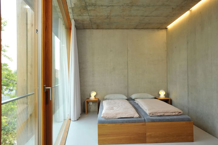 Single Room with shower/WC, Youth Hostel