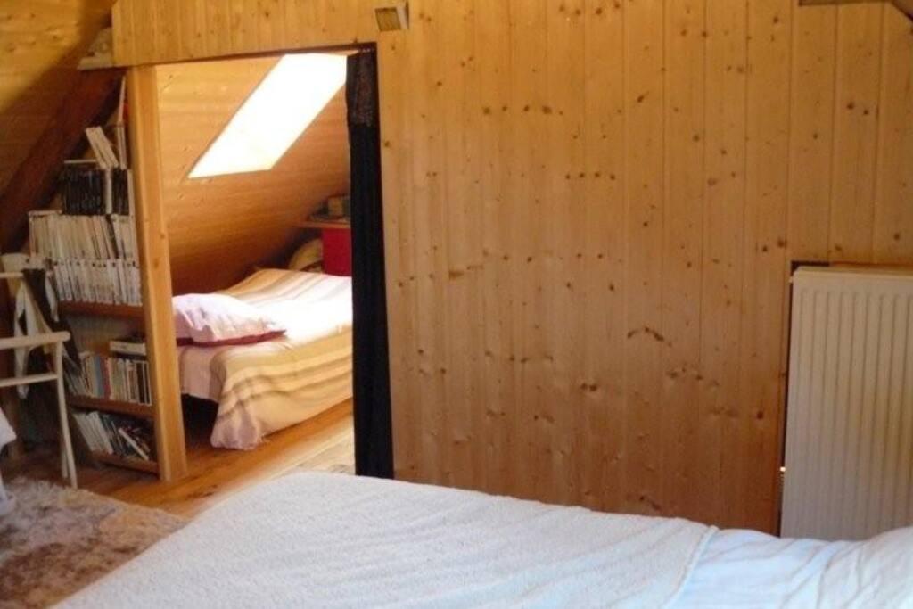 Grande chambre  2 espaces