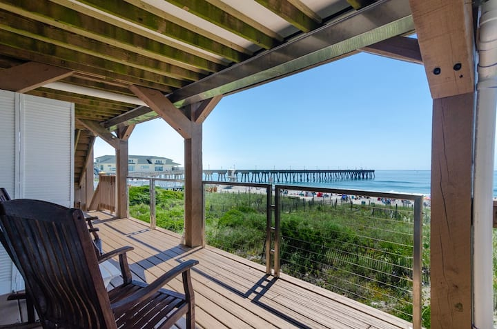 Parker #3-Affordable top floor oceanfront unit with amazing views