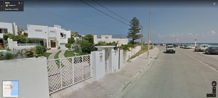 Beautiful High Standing Villa across the beach