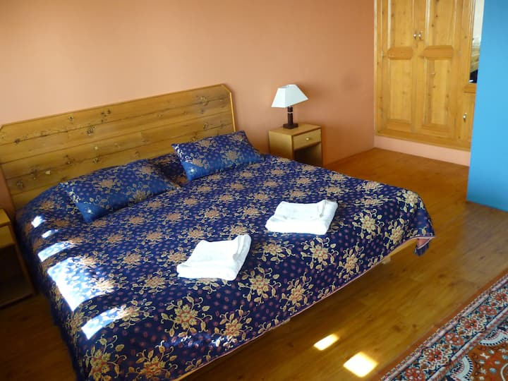 Comfortable village room above Dharamsala