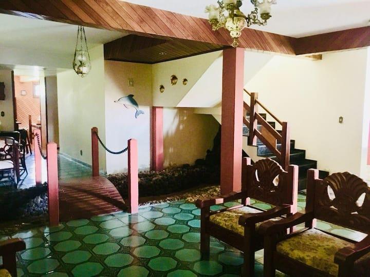 Mansão pedalinho,5 suítes 1qt, wc, 4salas, cozinha