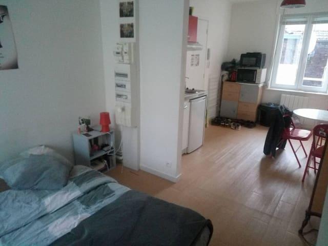 Studio de 30 m² à proximité de Lille - Tourcoing - Apartment