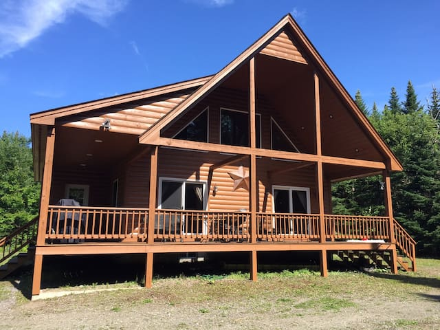 Private Cabin - direct ATV/snowmobile trail access