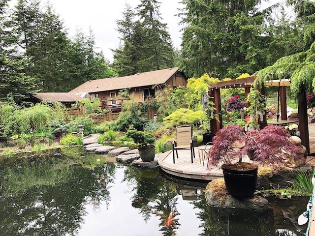 Black Creek Koi Pond Gardens- Mt.Washington Skiing