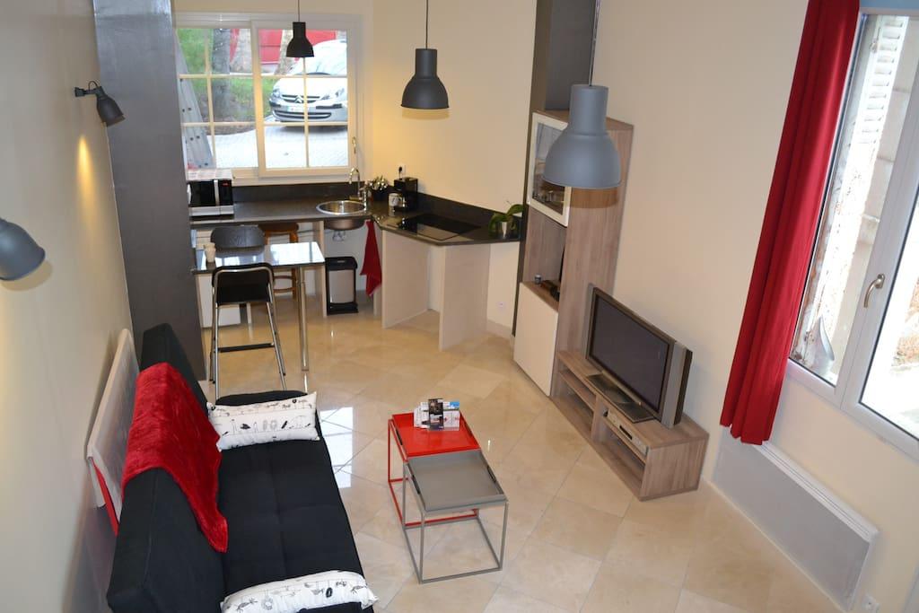 Maison confort centre calme jardin 20mn paris maisons for Salon de jardin ile de france