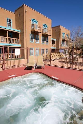 Villas de Santa Fe Exterior Pool View