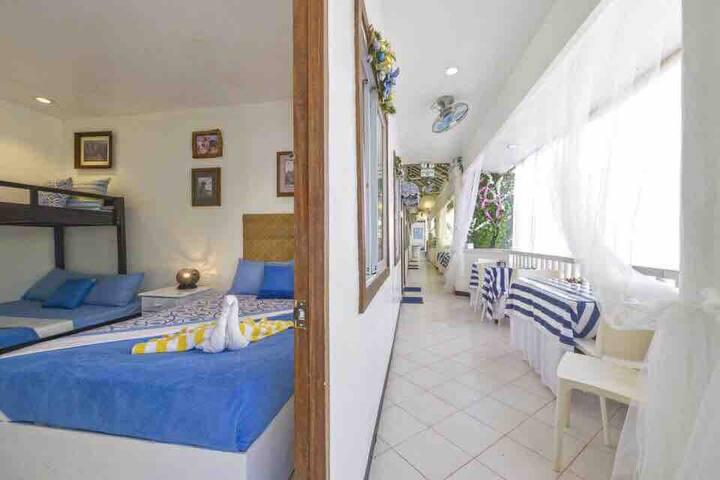 The Blue Veranda Suites Family ROOM 107/ Max 5 pax
