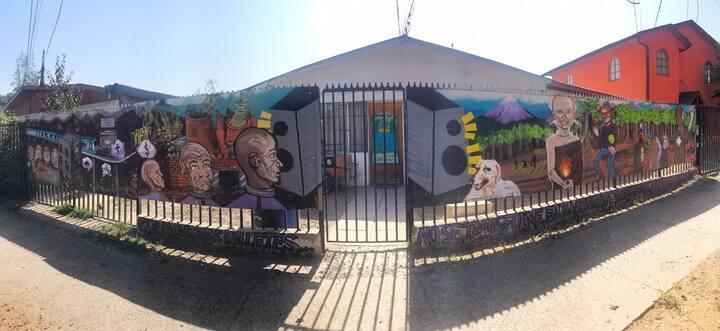 Cómoda habitación - Casa Cultural Flowrida Escuela