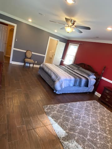 Extra Large basement Bedroom