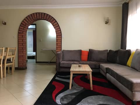 Private apartment tucked away in vibrant kampala