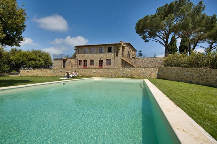 Vine Brunello 2BR Apartment in Villa Tuscany - Montalcino - Apartment