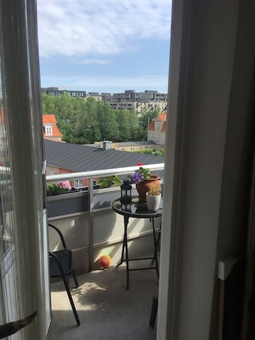 Lovely one-room appartment very close to the beach