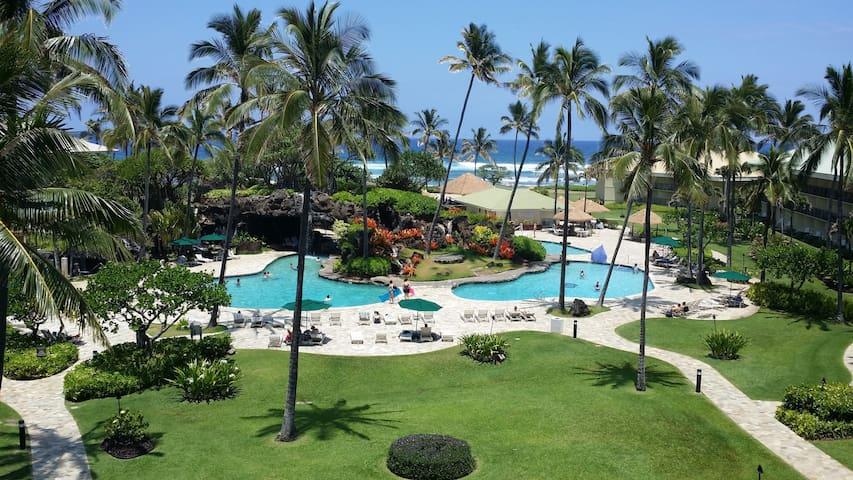 Kauai Beach Resort Top Flr Ocean View. Fun for All