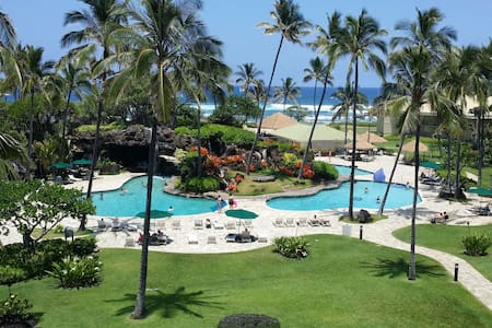 Kauai Beach Resort Top Flr Ocean View. Fun for All - Līhuʻe - Lejlighedskompleks