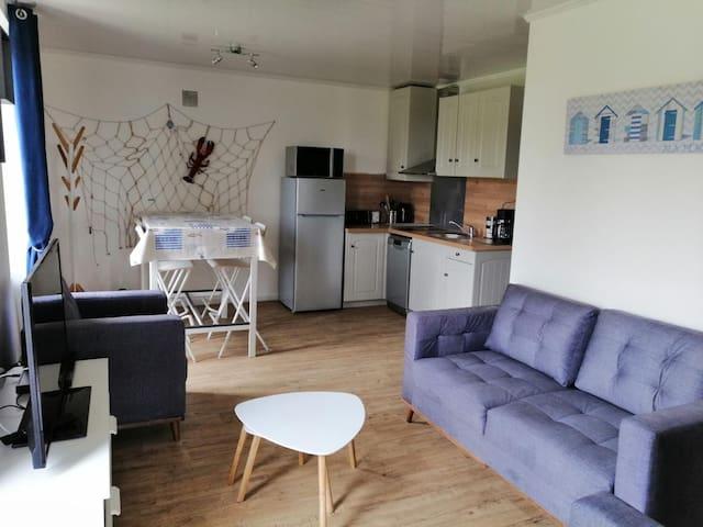 Agréable appartement rénové vue sur mer - ERQUY