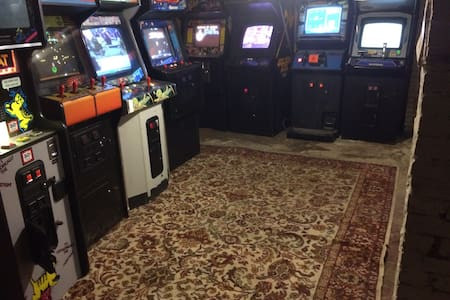 One of a Kind Party Space + Arcade! - Somerville