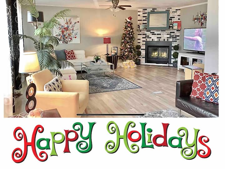 REVIVE❗️Clean, spacious and decor for holidays ⛄️