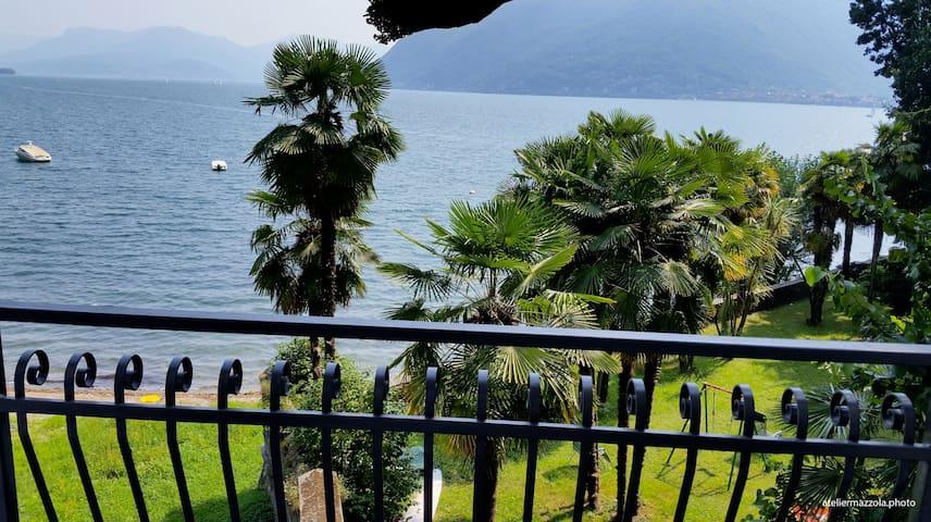 Bella Casa alla Spiaggia Nr. 3 - Tronzano lago maggiore - Daire