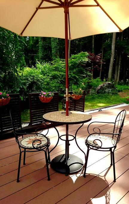 共用 室外露天桌椅