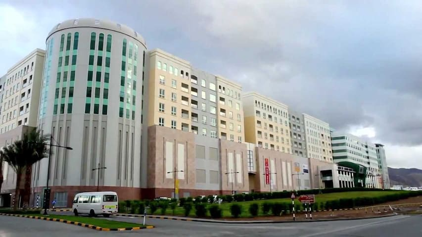Muscat GrandMall - Luxury & Furnished Apartment