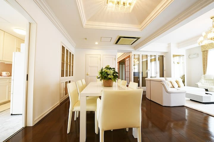 (0823)Luxurious apt with free parking in Sapporo