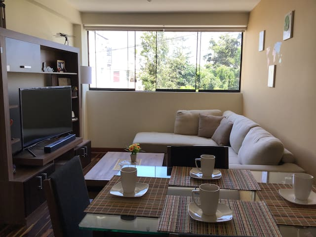 Cozy apartment in Lima-San Miguel. Great Location
