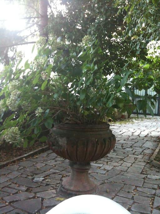 Antico giardino all italiana