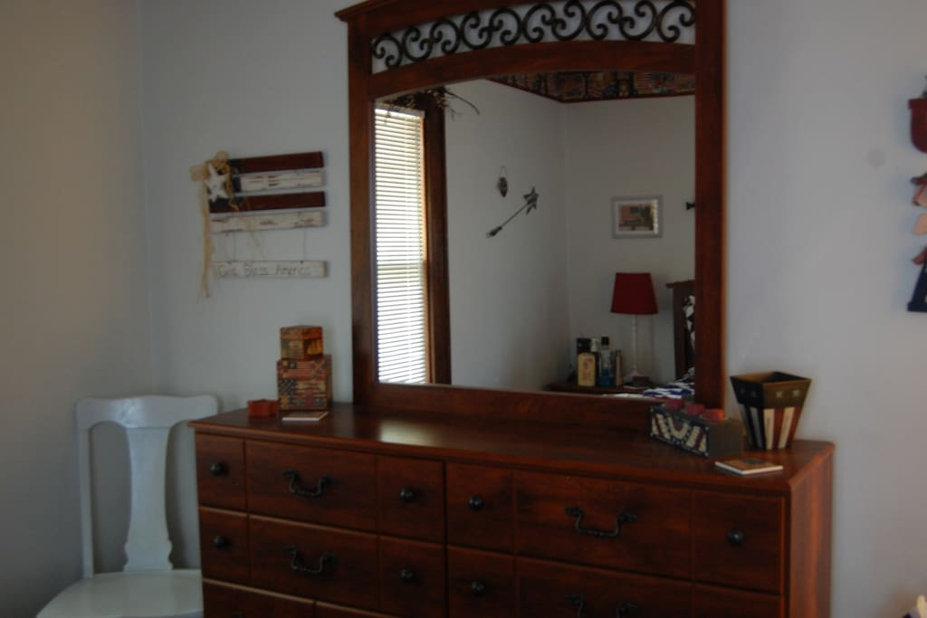 Patriotic Room, Dresser (there's also an armoire)