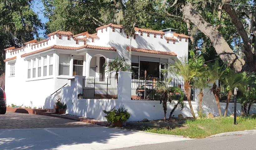 Rare 1925 Mediterranean Revival Home
