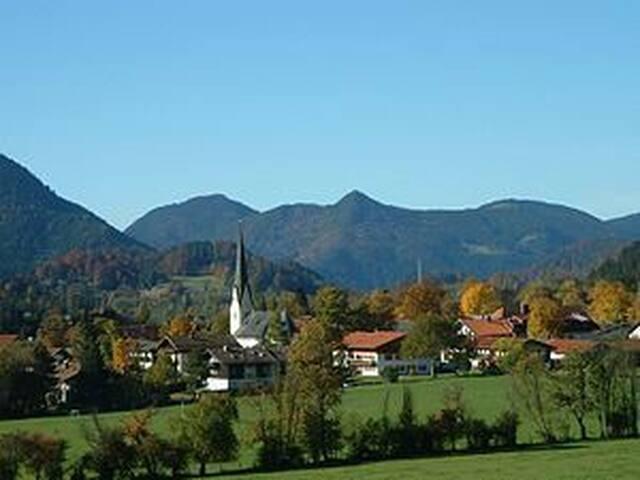 Chalet Galeriewohnung Berge pur - Bayrischzell