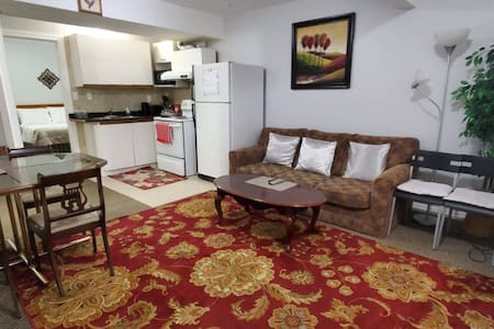 New Basement Suite, Close to Airport.