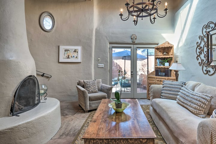 NEW! Adobe-Style Bungalow in Historic Santa Fe!