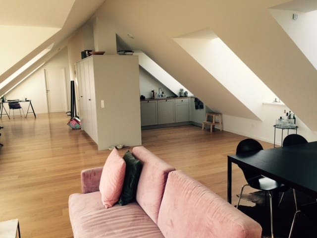 134 sqm. brand new etablisted Penthouse apartment. - Charlottenlund - Appartement