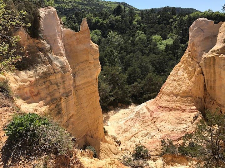 Luberon,colorado provençal,Sejour Historic detox