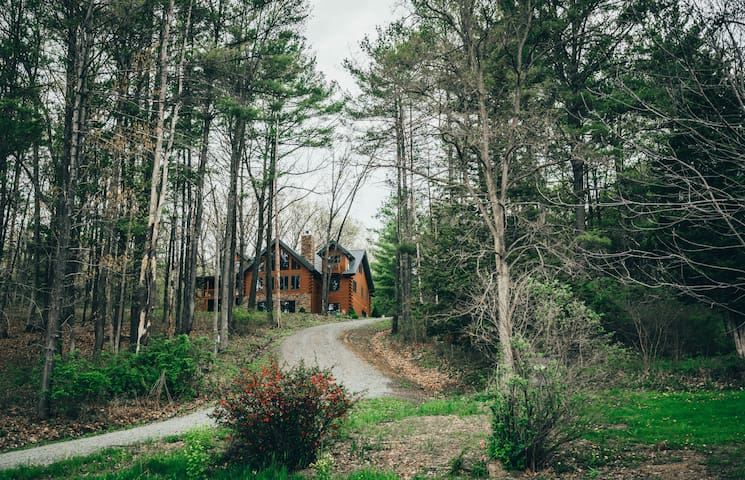 Keuka Woods, Serene log cabin, with modern flare