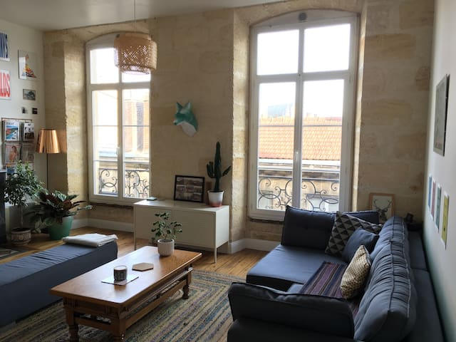 Loft d'architecte à Saint Michel - Bordeaux - Loft