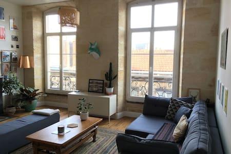Loft d'architecte à Saint Michel - Bordeaux