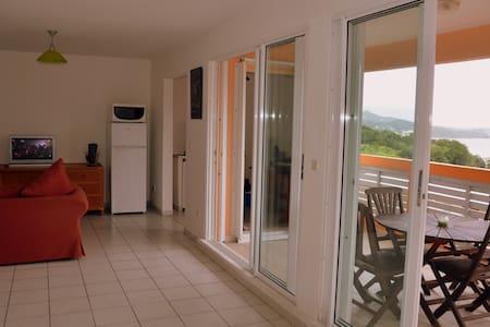 T2 vue mer proche de la plage et des commodités - La Trinité