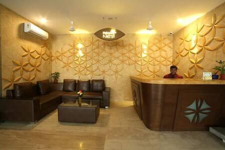 Comfy Stay for 2 @ Hitech City - Hyderabad - Lakás