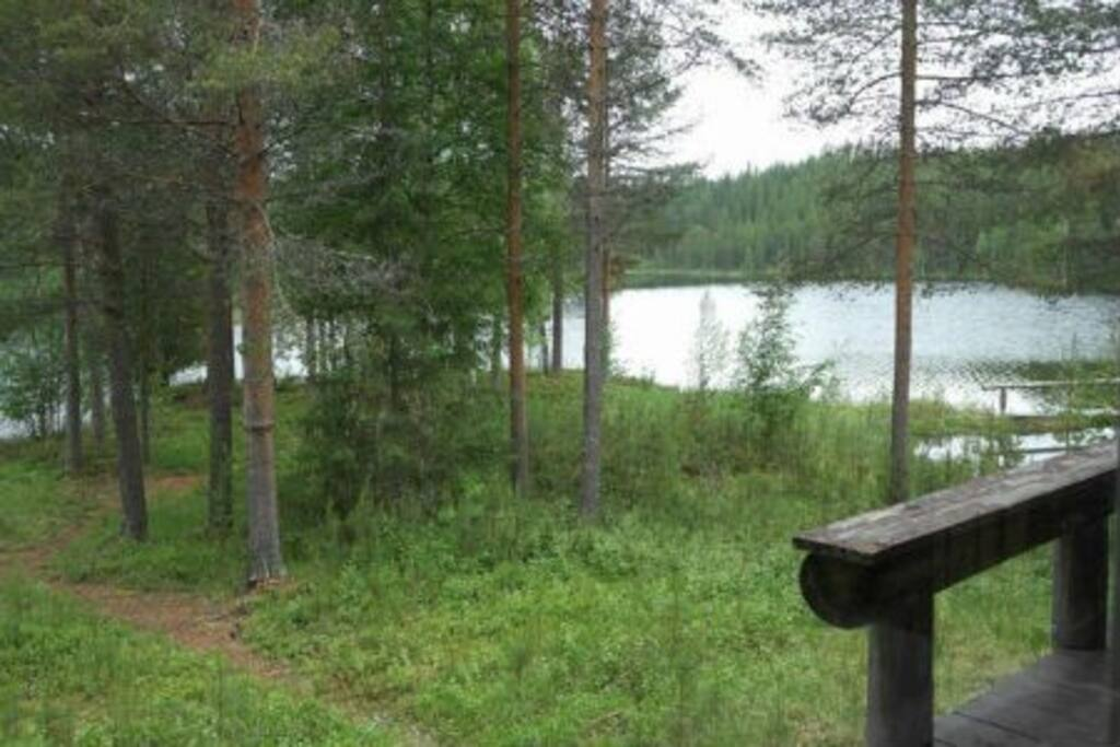 Maisema / wiev from cabin