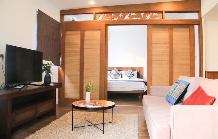 Moon BD & 1BR/ Balcony and Lotte View & Vincom NCT
