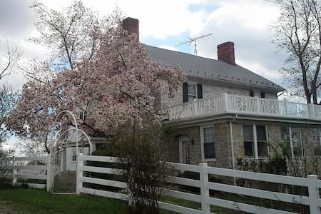 Stone House Mansion 1757 – Tucker Room - Kearneysville - Hus