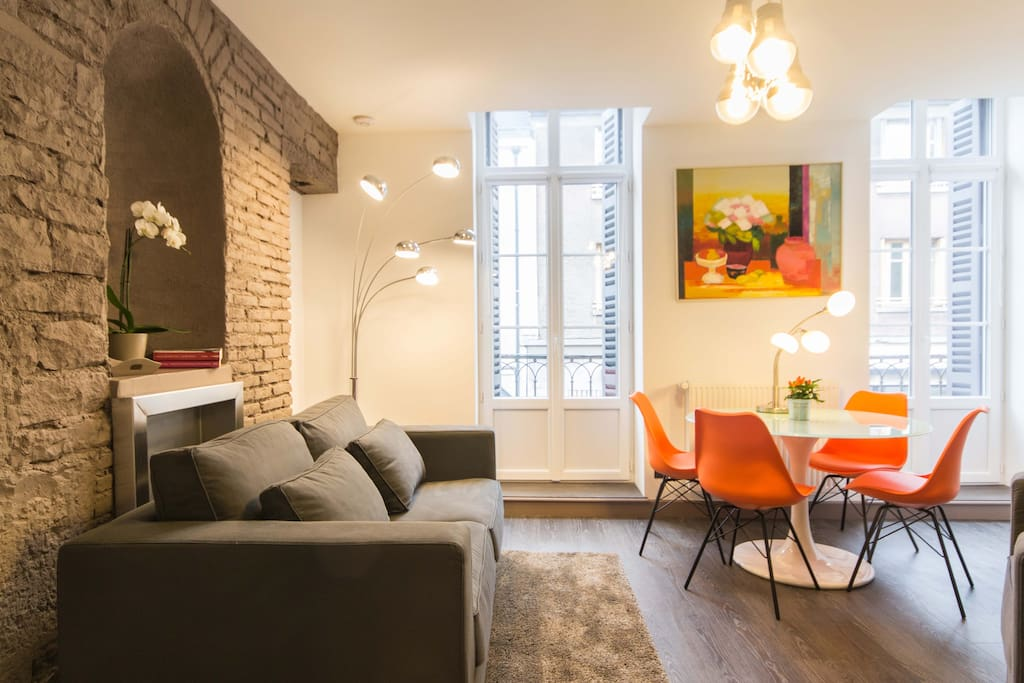 Appart de charme centre historique appartements louer for Appartement atypique dijon louer