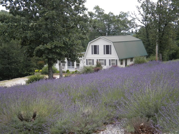 ROBERTS CARRIAGE HOUSE RETREAT & LAVENDER FIELD
