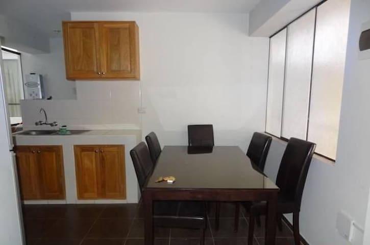 Mini departamento con dos habitaciones