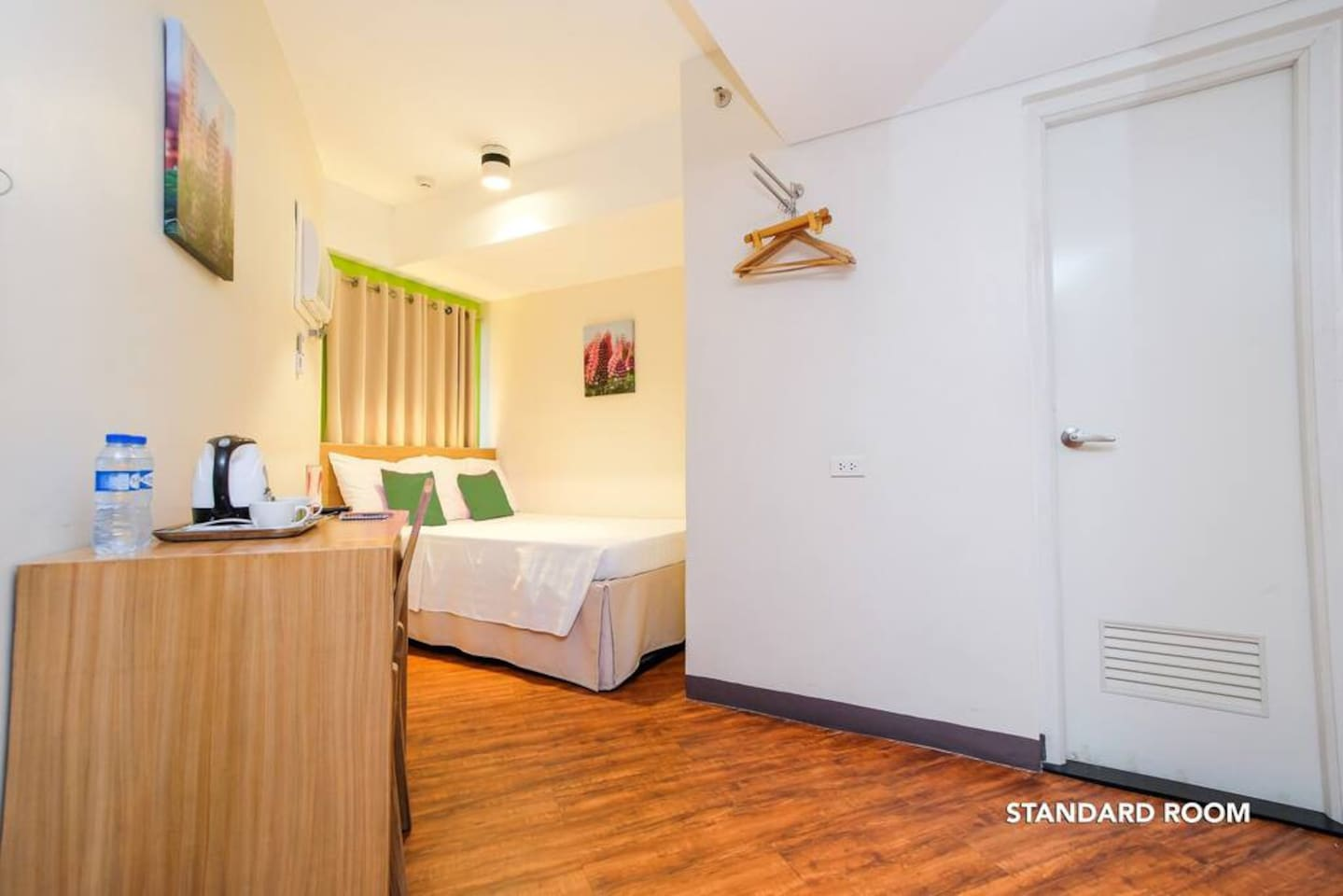 Interior of Standard Double Room at MySpace Hotel @BGC.