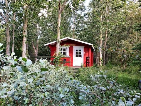 Bakkakot 3 Gezellige hut in het bos